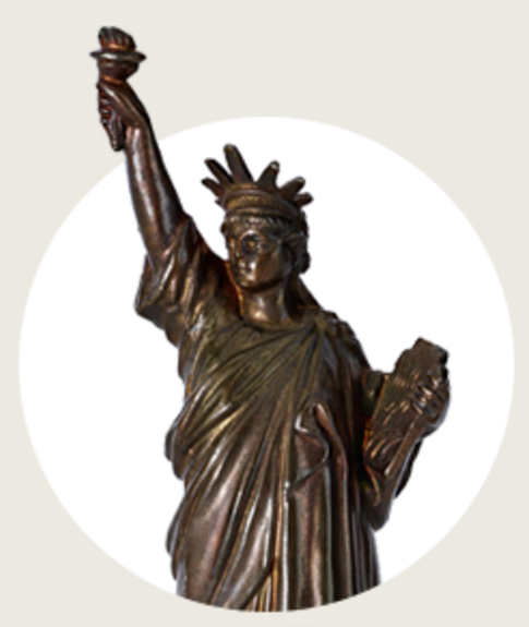 Statuette of Statue of Liberty, 1880s