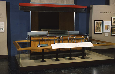 Woolworth's Lunch Counter - Separate Is Not Equal