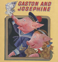 gaston and josephine little golden books albert h small