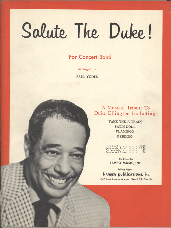 Duke Ellington essay