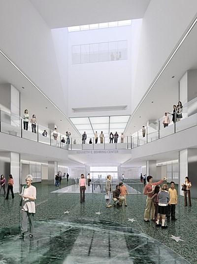 Beau New Interior Vistas, A Skylight, And A Five Story Atrium Transform The  Center Of The Building