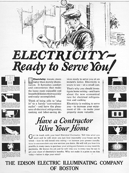 powering a generation  historical edison electric
