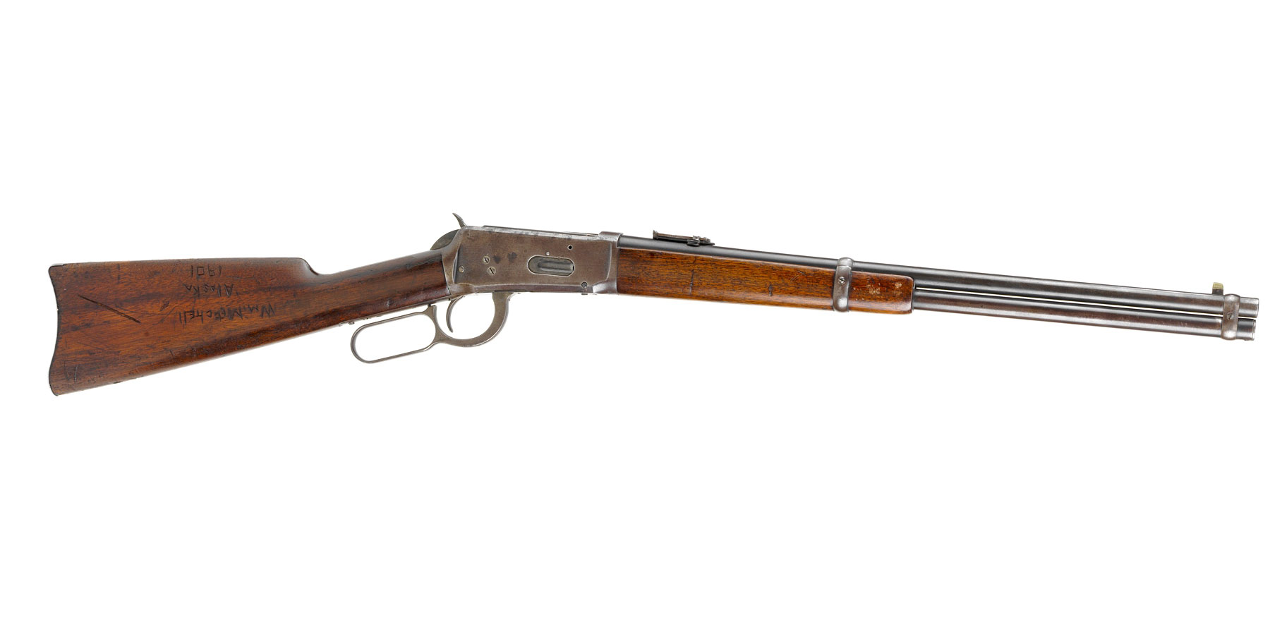 Winchester model 1894 lever-action carbine owned by William Mitchell
