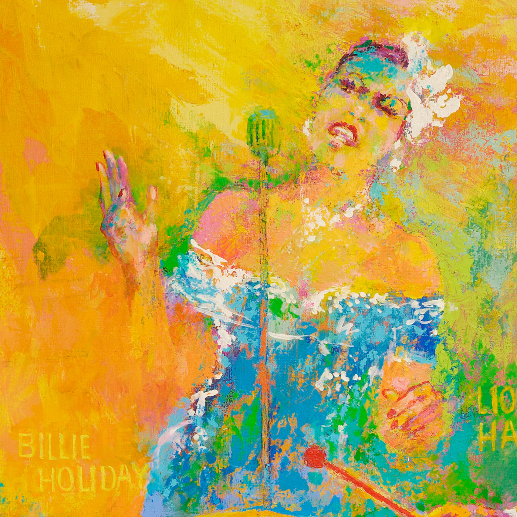 Meet the titans of jazz: A guide to LeRoy Neiman's fantasy ...