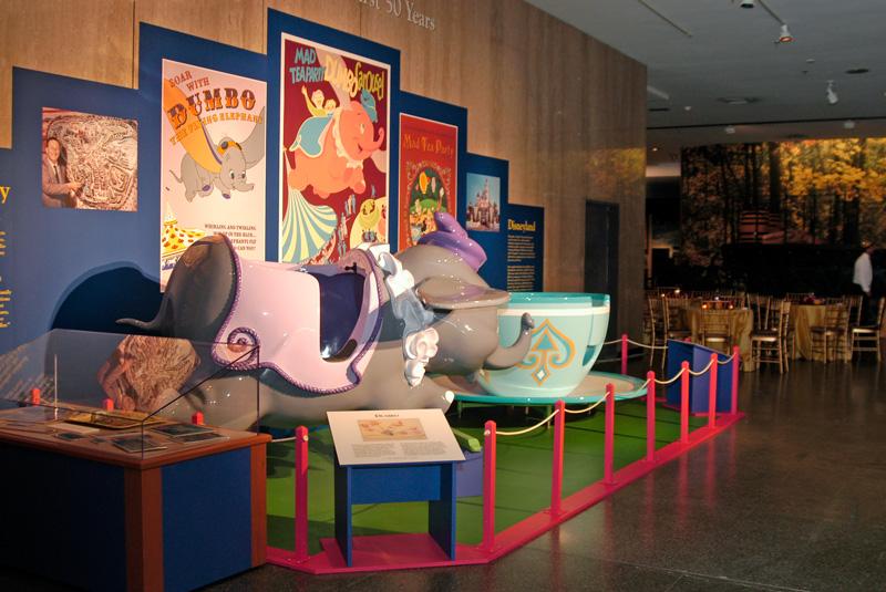 Disney display in the museum