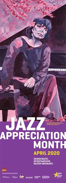 2020 Jazz Appreciation Month poster