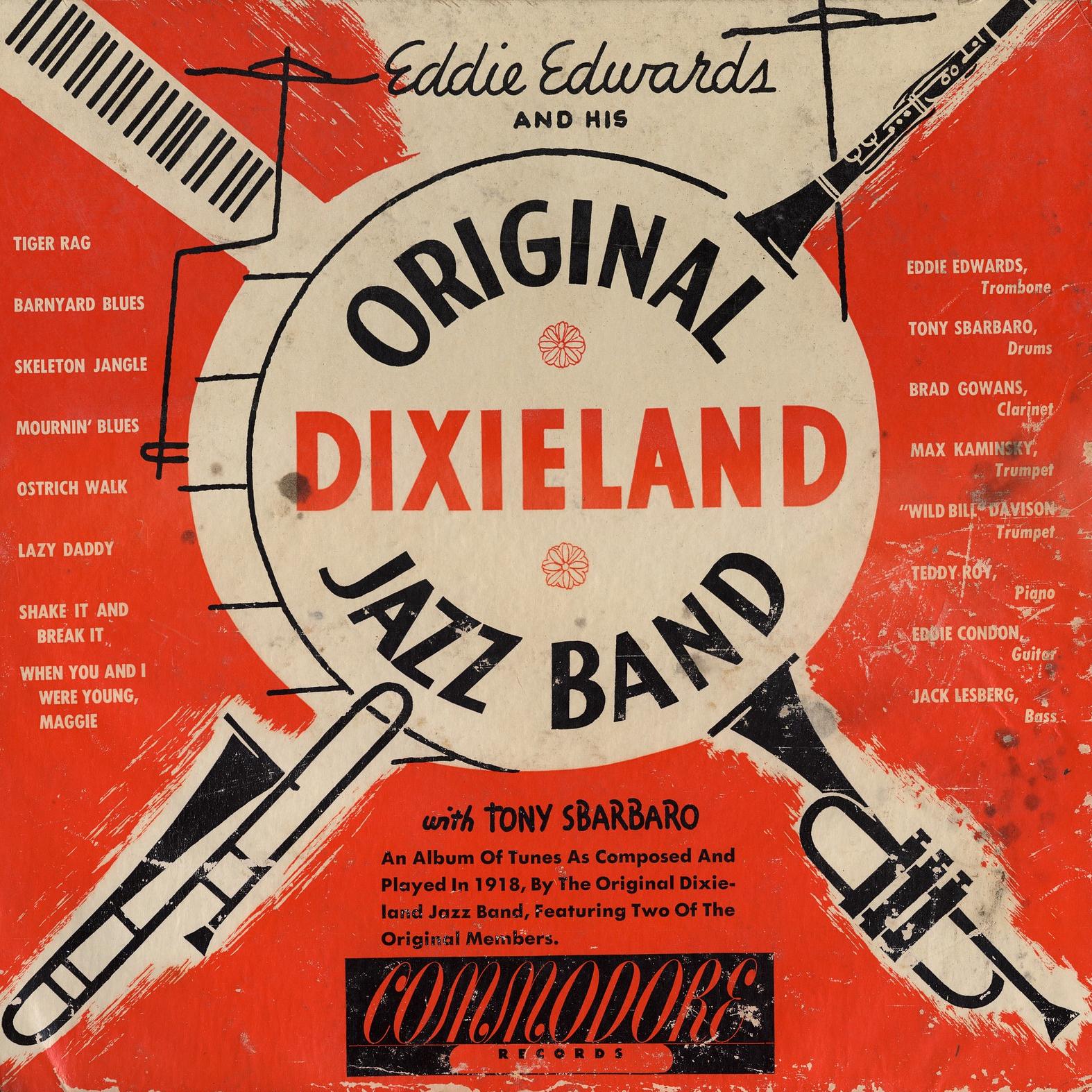 Original Dixieland Jazz Band album cover