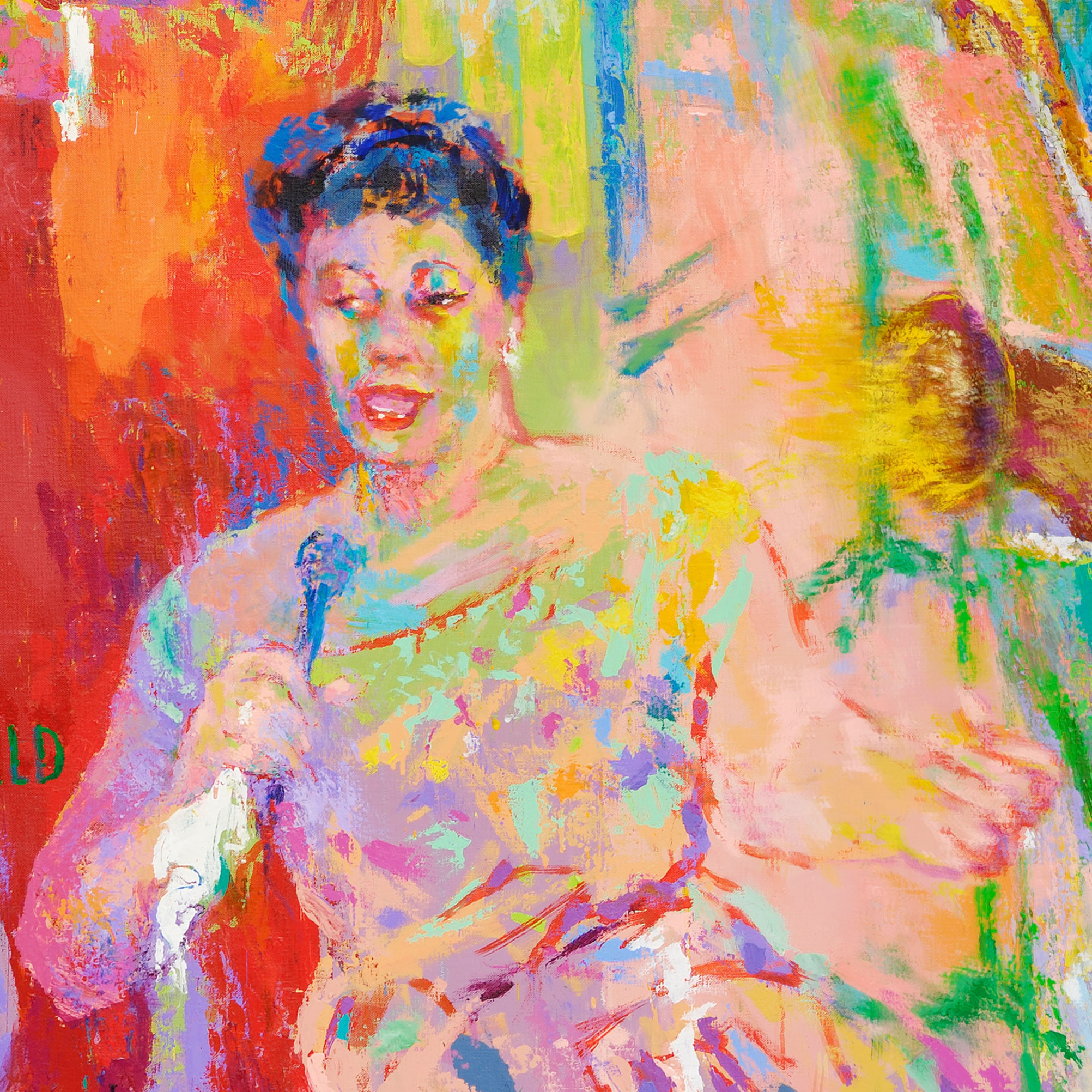 Meet the titans of jazz: A guide to LeRoy Neiman's fantasy