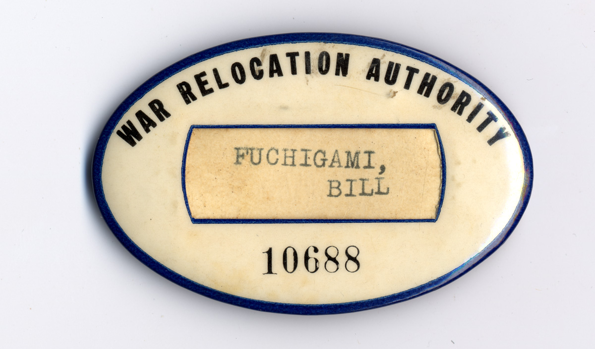 War Relocation Authority ID tag