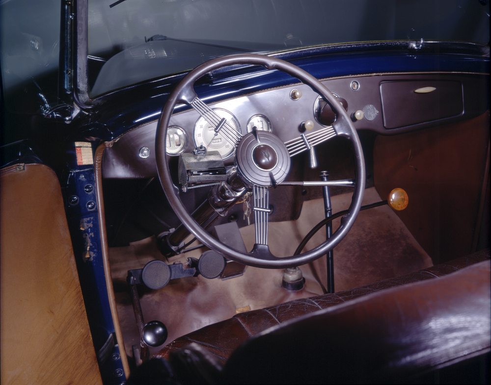 Antique Driving Hand Controls in FDR's car || Mobility Express