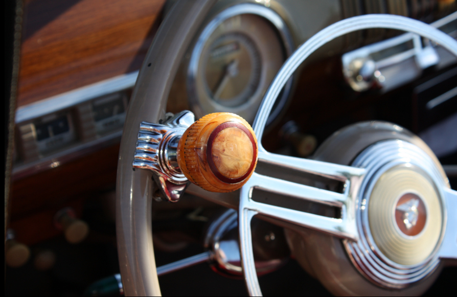 what is the knob on a steering wheel