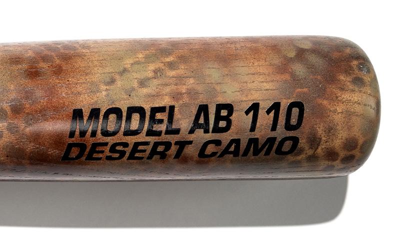 Desert Camo baseball bat