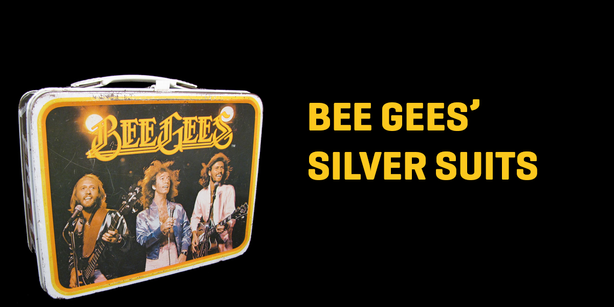Bee Gees Silver Suits Lunchbox