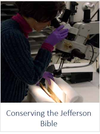 Conserving the Jefferson Bible