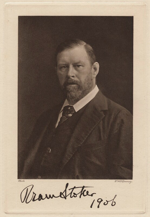 Portrait of Bram Stoker