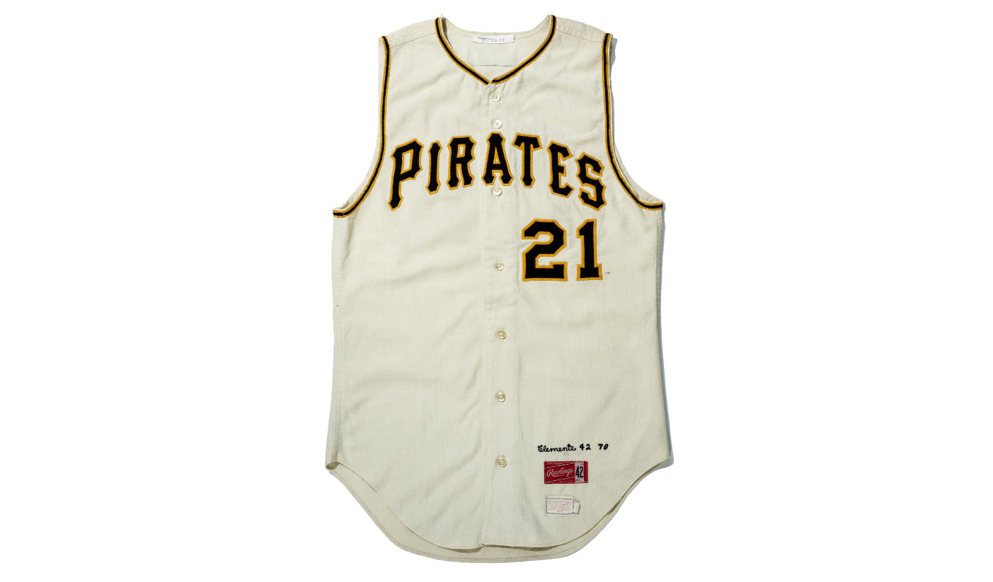 Number 21 Pittsburgh Pirates jersey