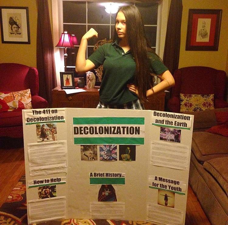 Isabella Aiukli Cornell and school presentation