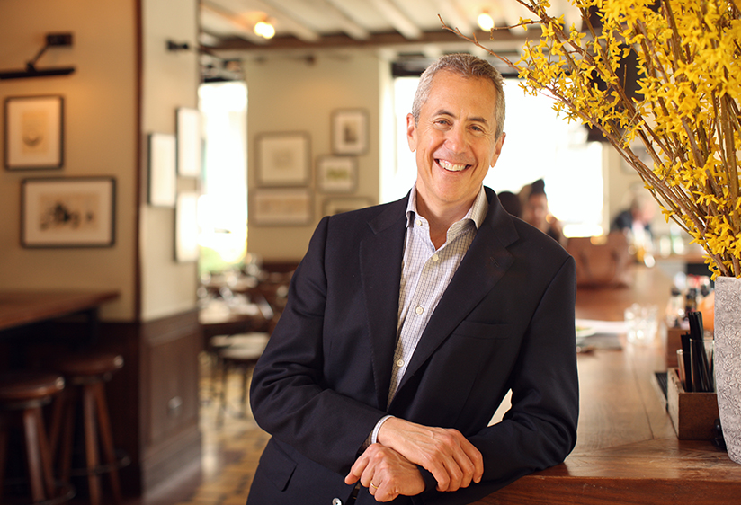 Danny Meyer in a restaurant