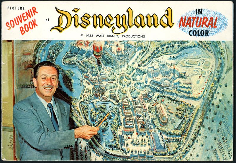 Disney souvenir book from 1955