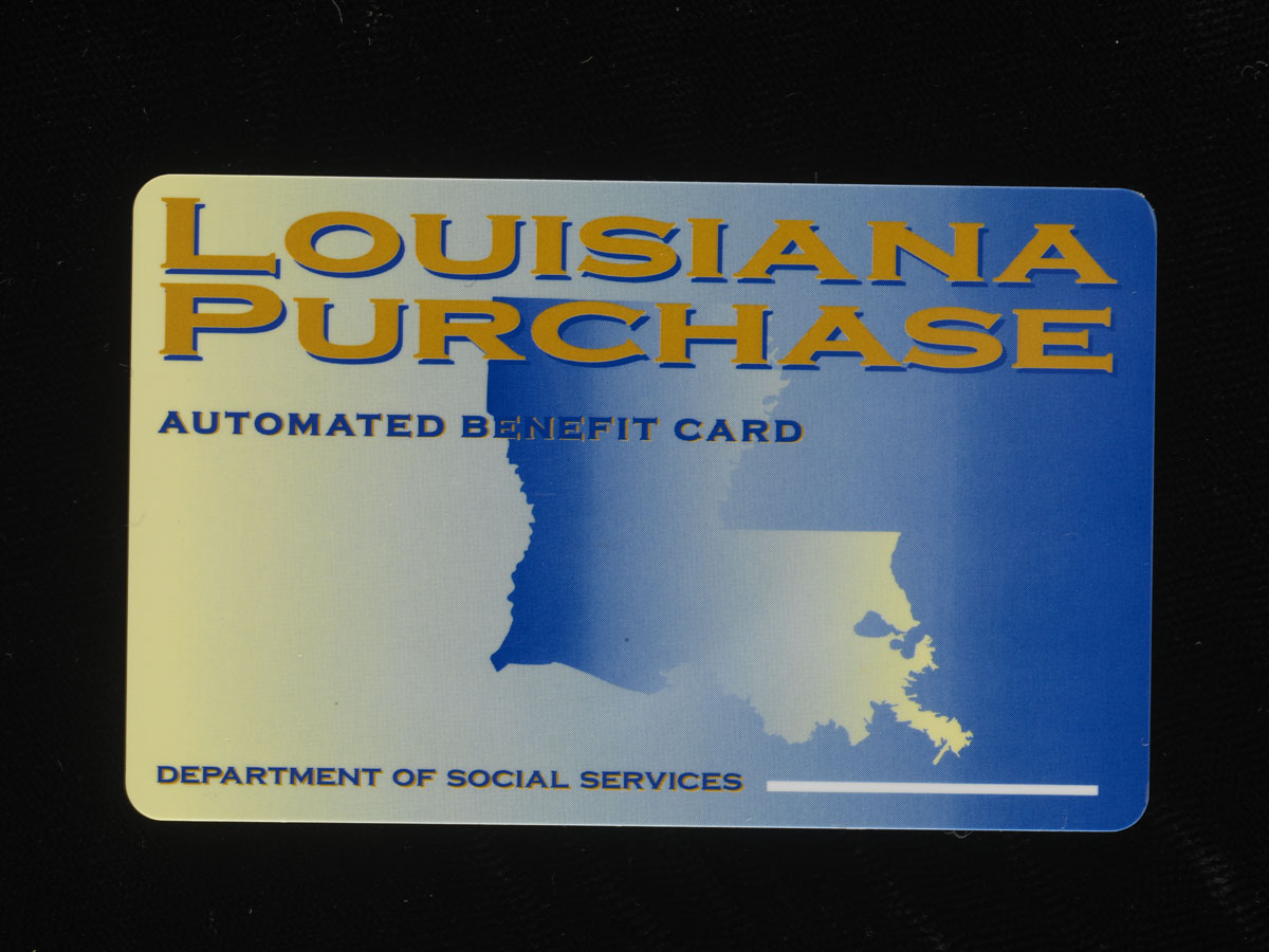 Photograph of Electronic benefit card, 2004