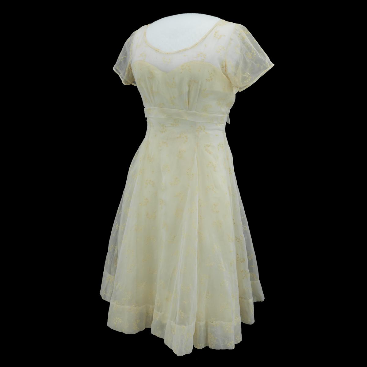 Minnijean Brown's graduation dress, 1959