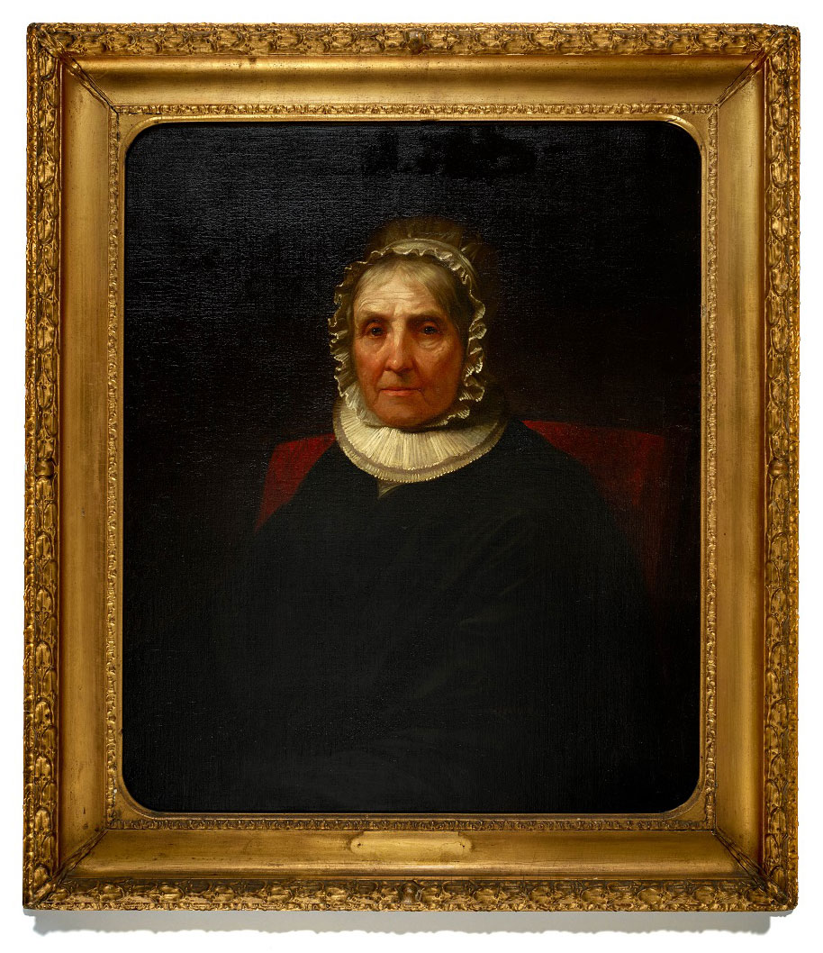 Portrait of Elizabeth Schuyler Hamilton by Daniel Huntington, mid-1800s