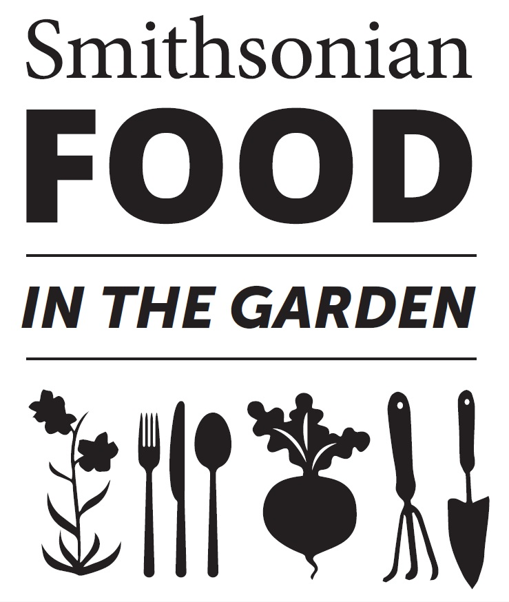 Food in the garden logo