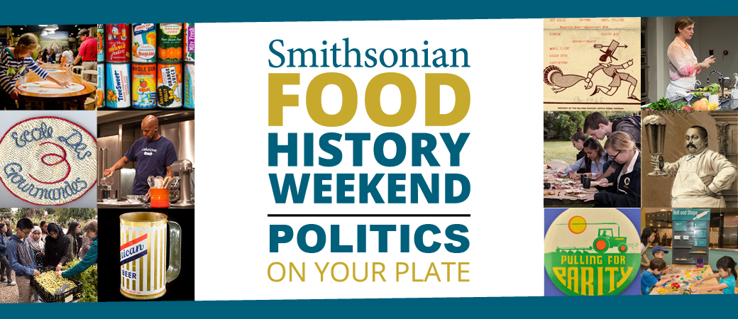 Food History Weekend logo banner