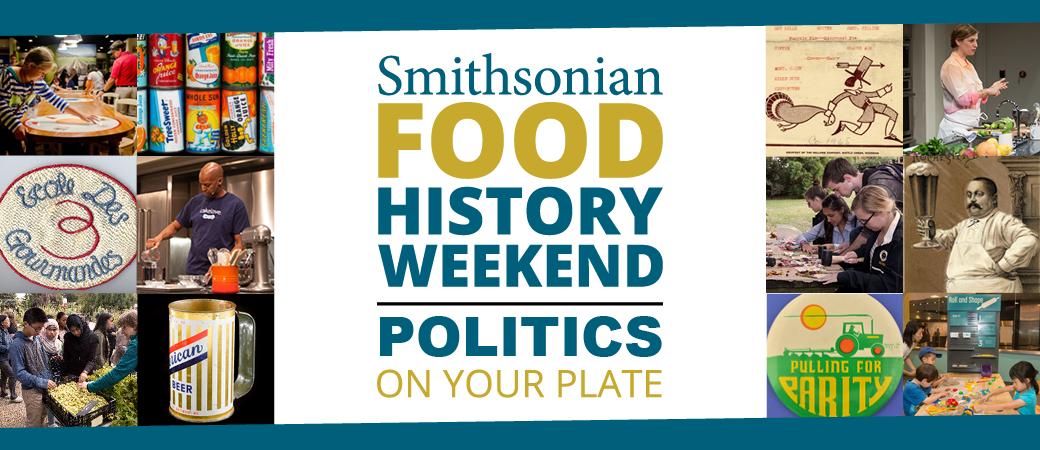 Food History Weekend logo banner