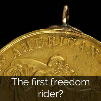 The first freedom rider?