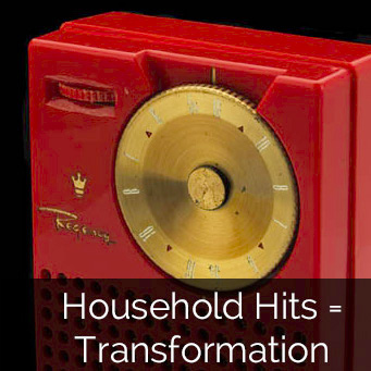 Household hits = transformation