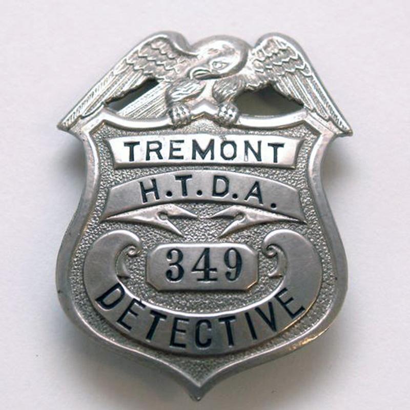 Horse Thief Detective Association Badge