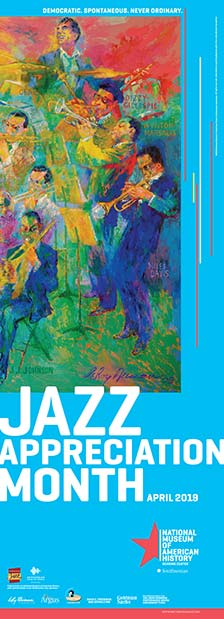 2019 Jazz Appreciation Month Poster