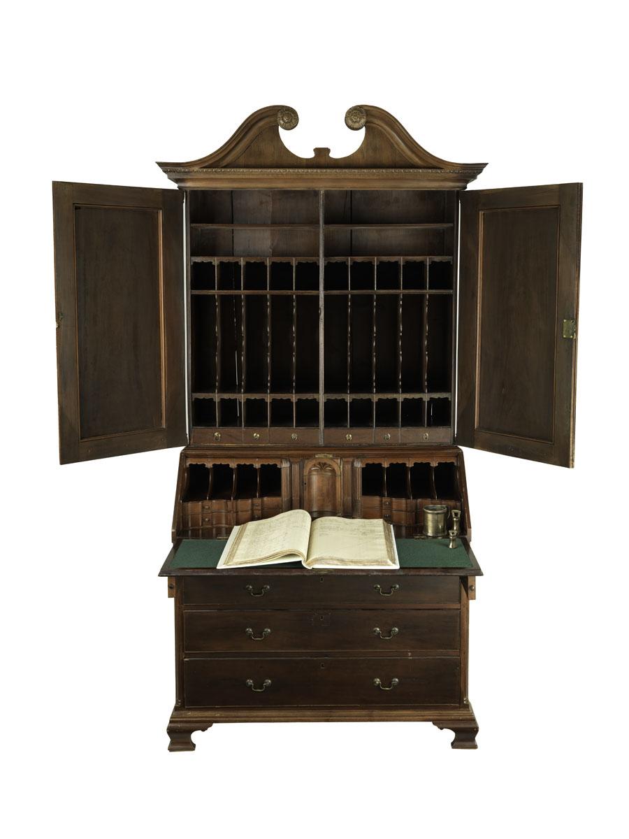 Photograph of William Ramsay's Desk