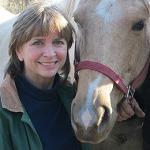 JoAnn Dawson with a horse