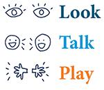 Logo for Look, Talk, Play