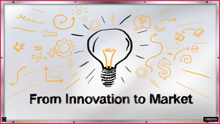 Interactive display for Innovation to Market