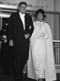 Jacqueline And John Kennedy 1961