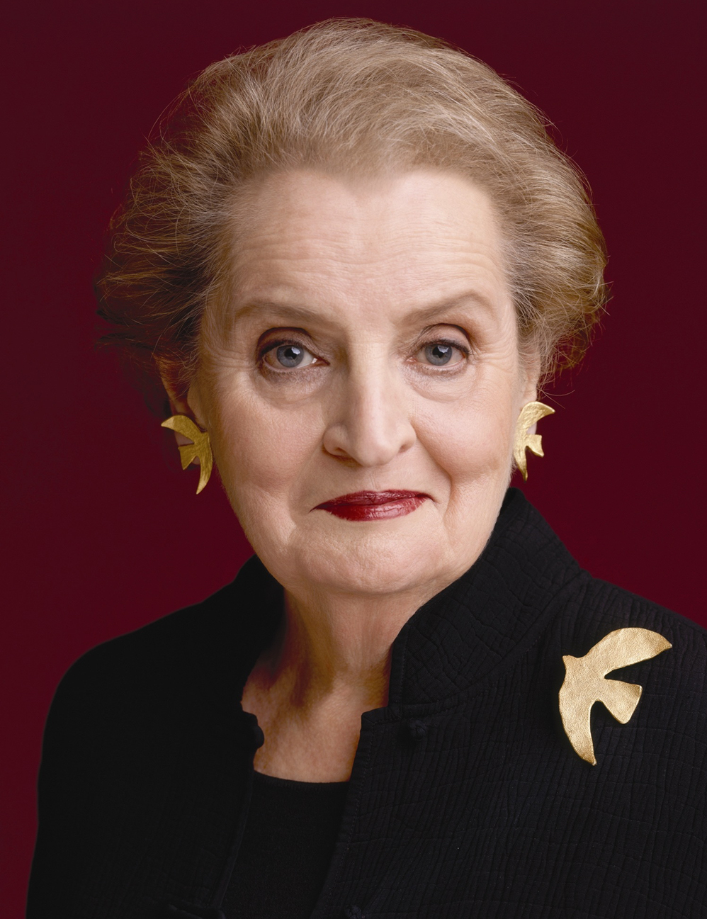 Madeleine Albright, photo by Timothy Greenfield Sanders
