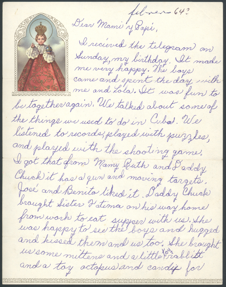 Pedro Pan letter