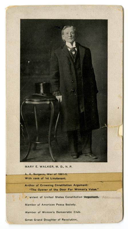Mary Walker speaker card