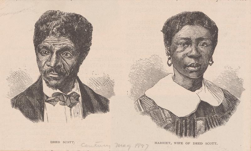 Dred Scott and Harriet Robinson
