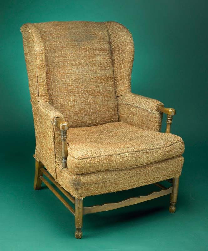 Chair used by the character Archie Bunker in 'All in the Family'