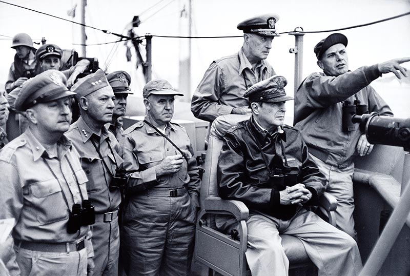 Men in miltary uniform