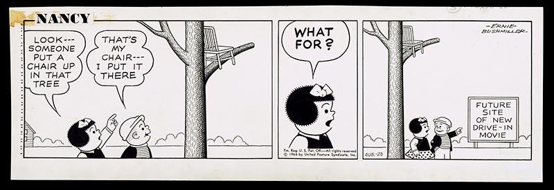 Nancy comic strip