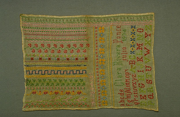 Photo of sampler