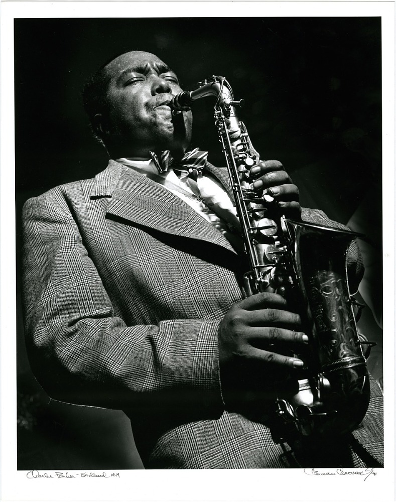 Charlie Parker at Birdland, New York City
