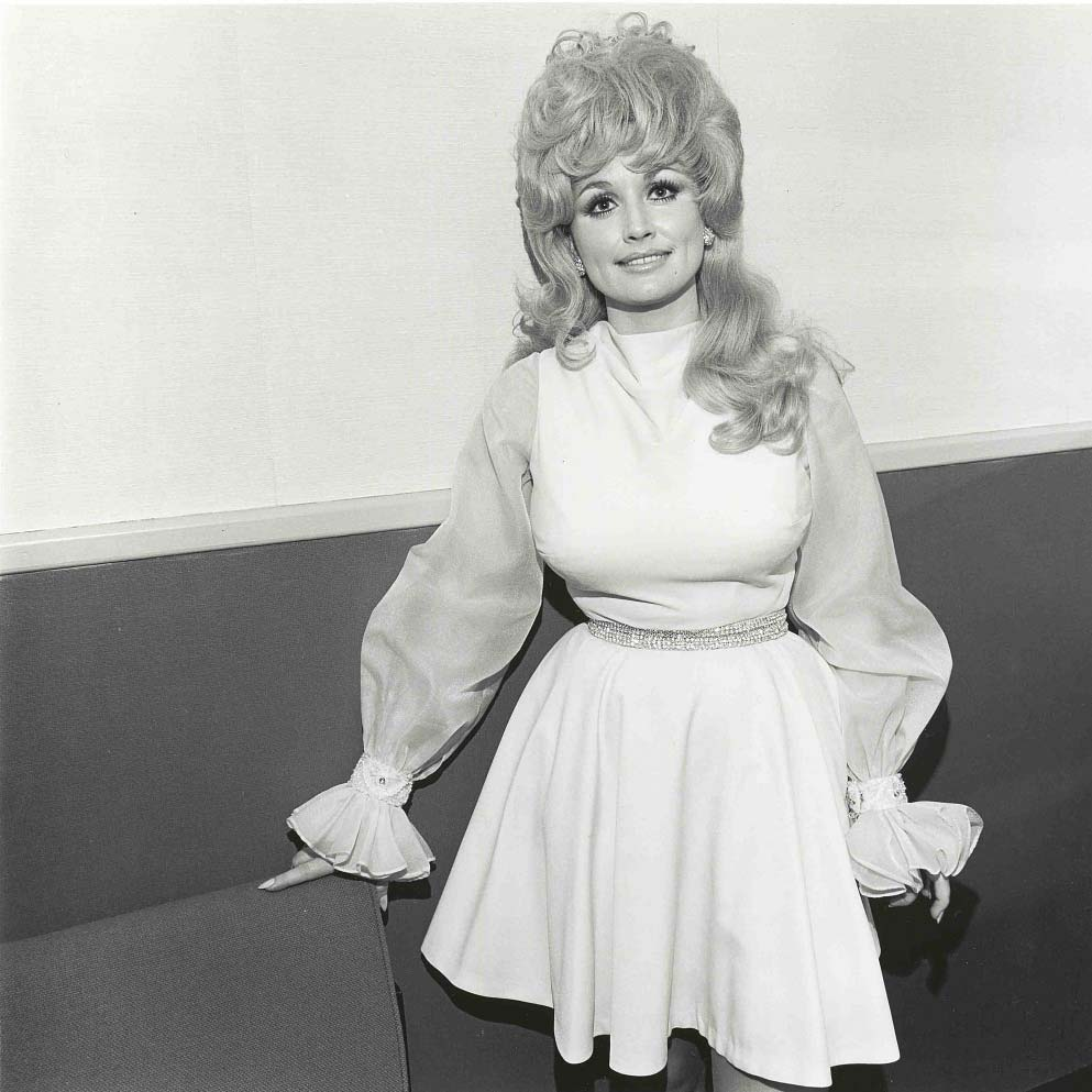 Dolly Parton poses for a photograph