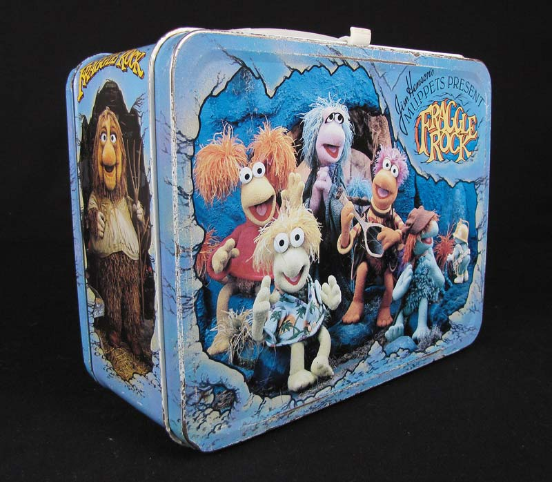 'Fraggle Rock' lunch box