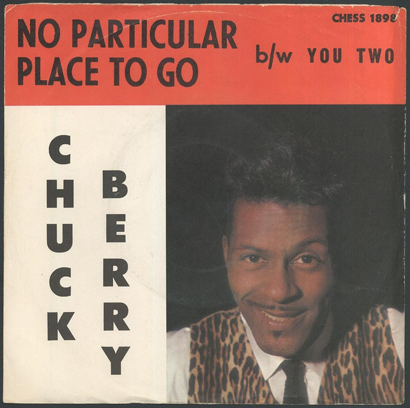 Record album cover, Chuck Berry